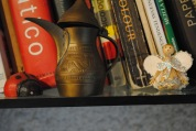 Lovely Collection Displayed on the Bookshelf