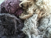 Dyed fibers